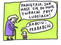 Babciu prababciu